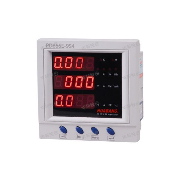 E series multi-functional electric meters (ultrathin housing)