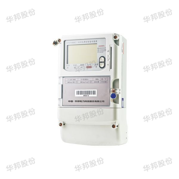 DTZY866C, DSZY866C three-phase charge intelligent electric energy meter (local CPU card)